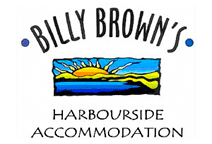 Billy Browns - Harbour Side Accommodation Logo